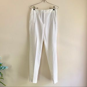 ZARA Basic • NWOT White Trouser Pants